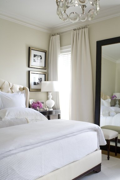 Guest room inspiration thelivedinroom for Neutral home decor ideas